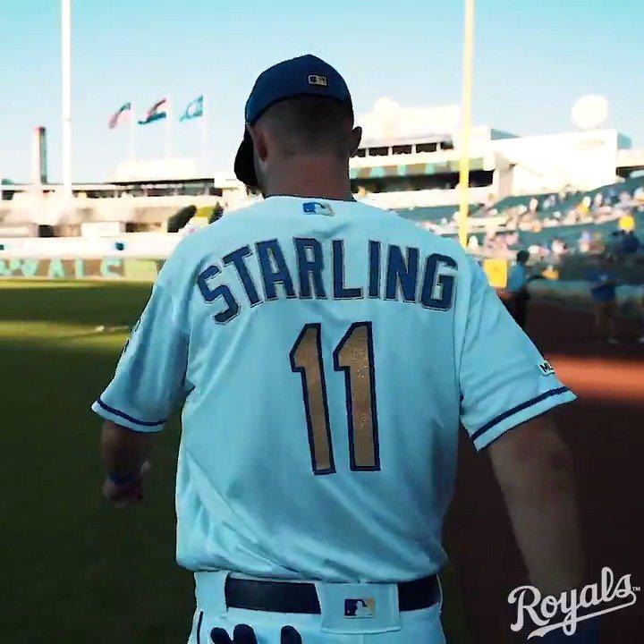Starling steps forth... Play ball!  #AlwaysRoyal