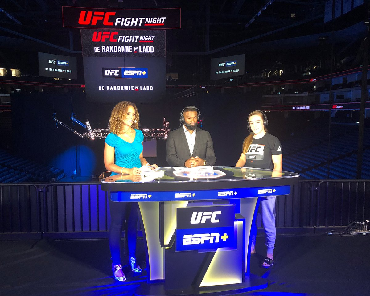 Very much looking forward to sharing this platform tomorrow with all the amazing @ufc athletes #UFCSacramento @espnmma 👊 – at Golden 1 Center