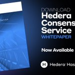 Image for the Tweet beginning: The Hedera Consensus Service synchronizes