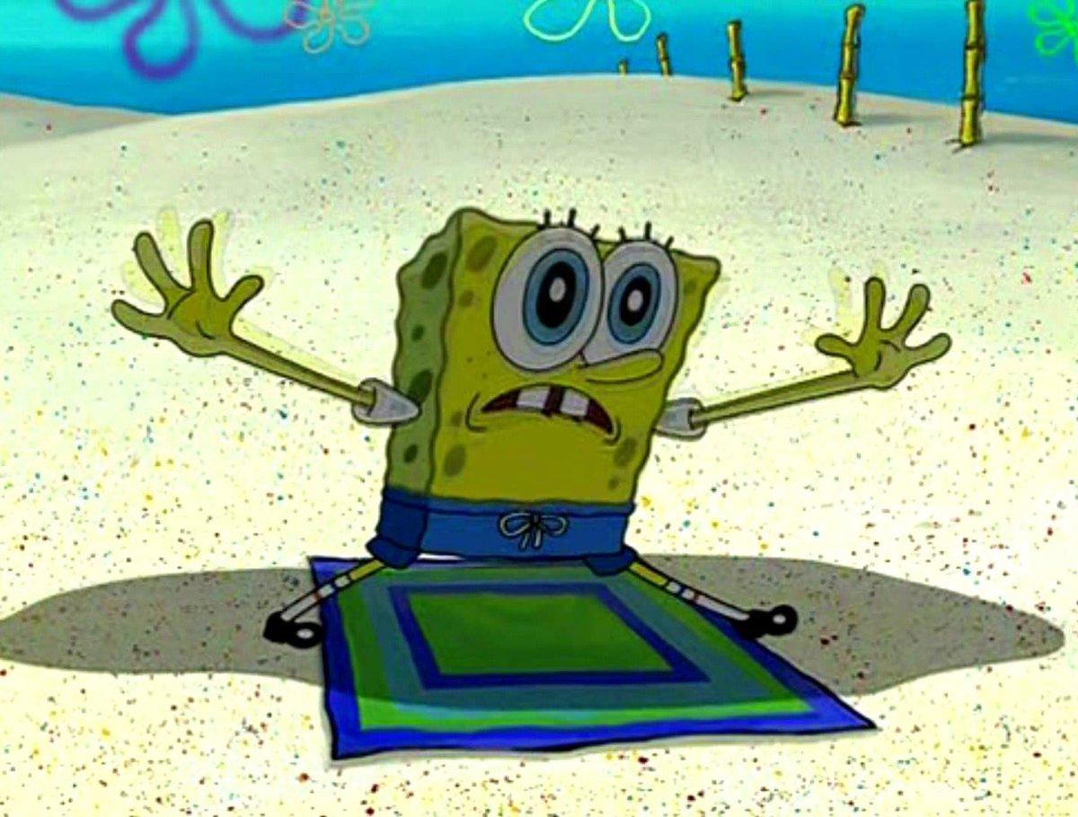 Image result for spongebob and live