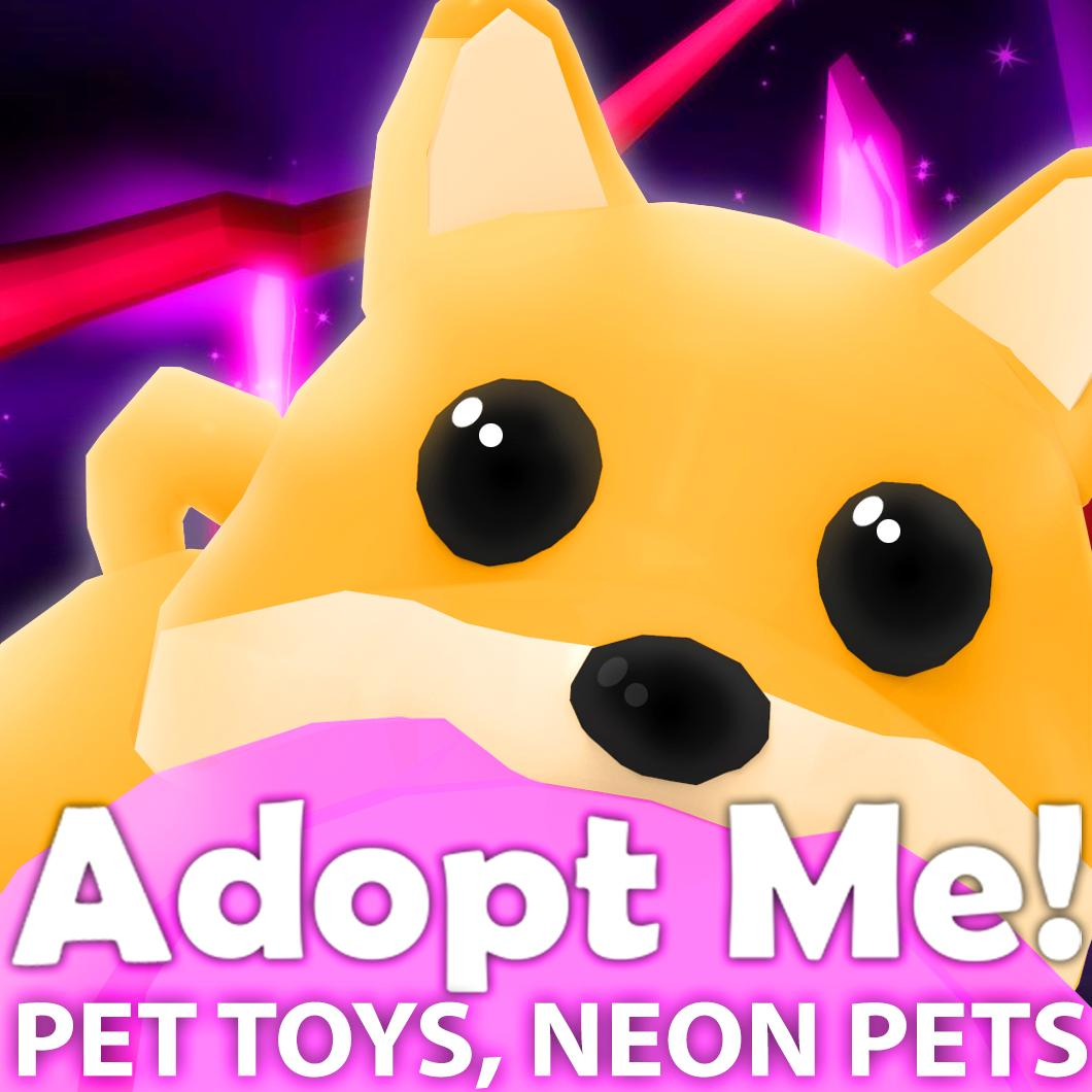 Bethink On Twitter New Adopt Me Pet Toys And Neon Pets Newfissy Tactful Roblox Robloxdev