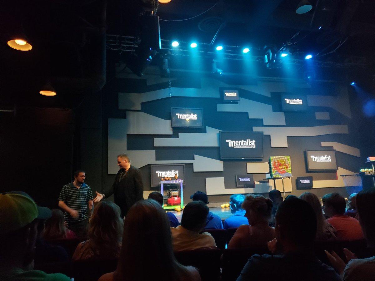 Enjoyed the show! @Mentalist @VBoxOffice @PlanetHollywood