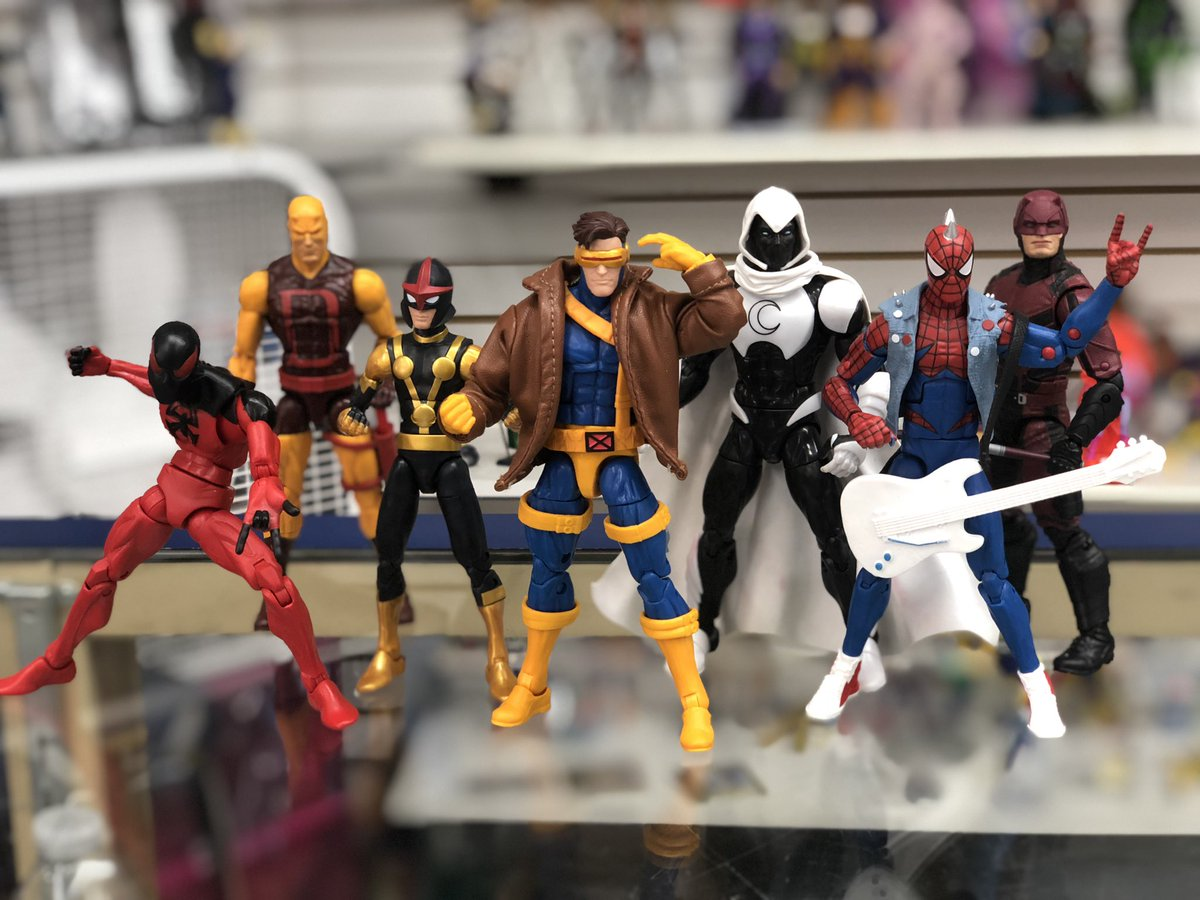 Stay vigilant, heroes!  Small Marvel Legends lot has been processed... stop by today!  #Hasbro #MarvelLegends #ActionFigures #ActionFigureCollector #Collect #Collector #LCS #LocalComicShop #SanAntonio #Marvel #MarvelUniverse
