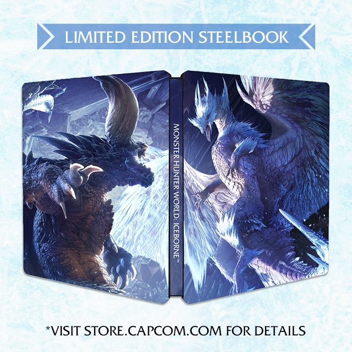 US, Canada] ✨Limited Edition Steelbook✨ for Monster Hunter