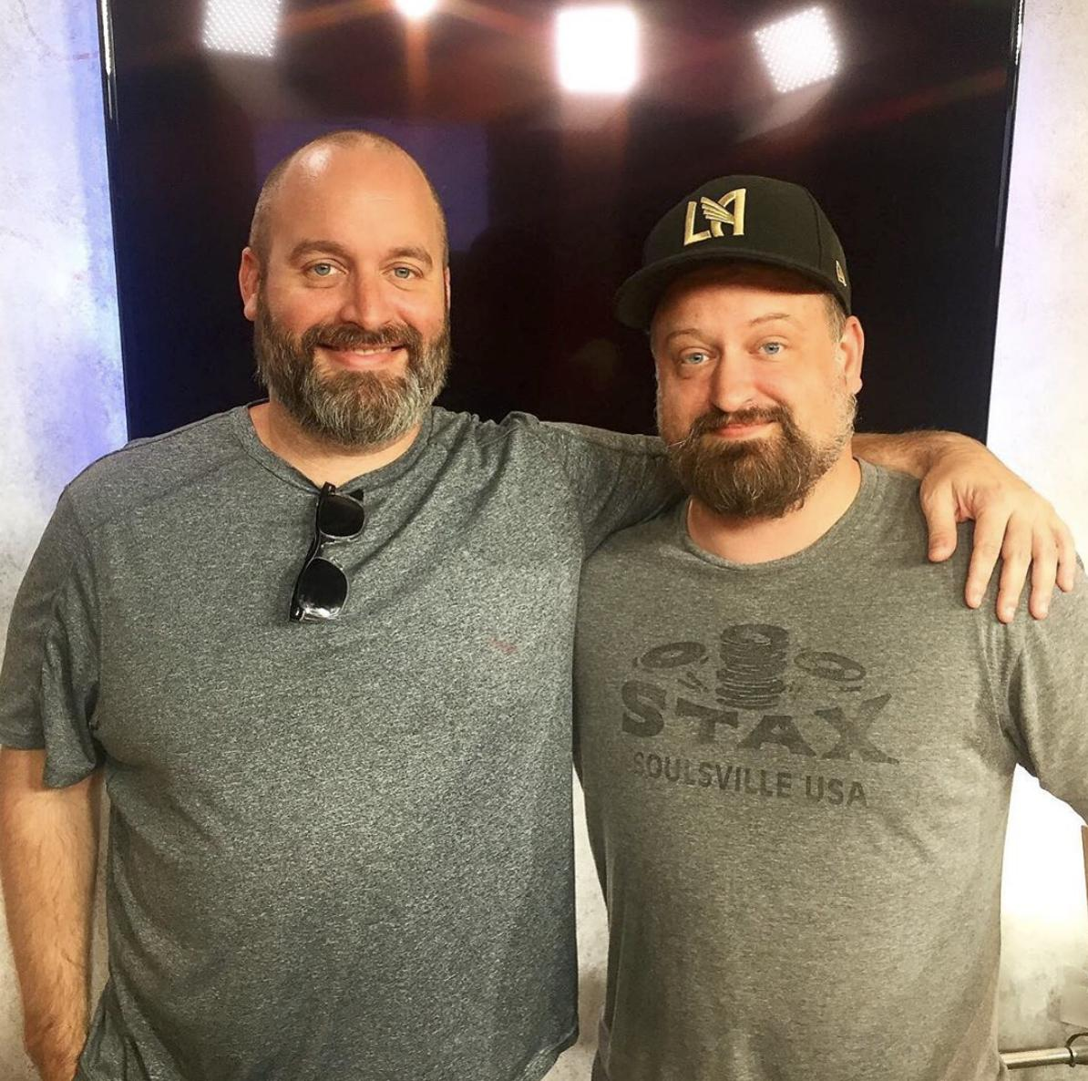 """I've had a lot of great guests on """"Hunk with Mike Bridenstine"""". But none have been quite as handsome as @tomsegura. Click the link.   https://podcasts.apple.com/us/podcast/ep-021-offensive-jokes-with-tom-segura/id1454900854?i=1000444341761…"""