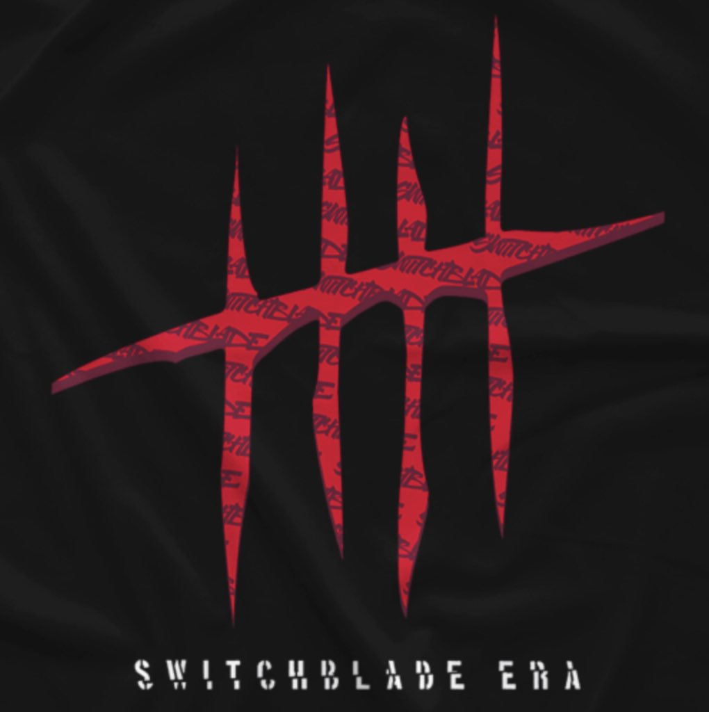 "New ""Swithcblade Era"" design out now at @onehourtees 🗡#switchblade #era #jaywhite #njpw #bulletclub #g1 #g1climax #g129https://www.prowrestlingtees.com/kazuchika-okada-frankin-1.html …"