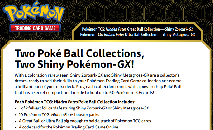 Things Coming Soon To Pokemon Tcg 2 Hidden Fates