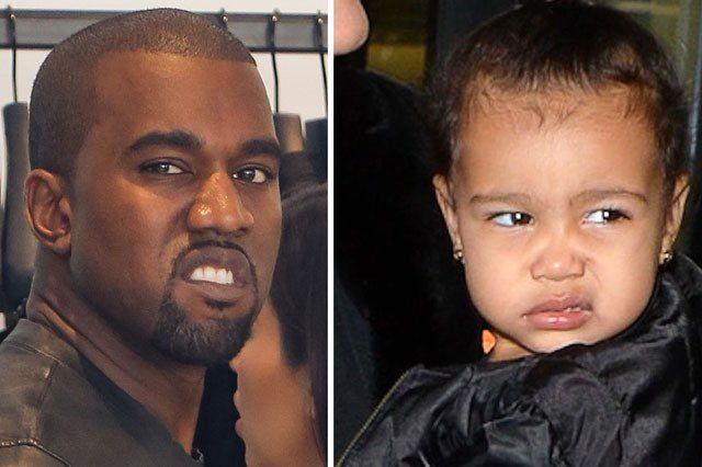 North West as Kanye West