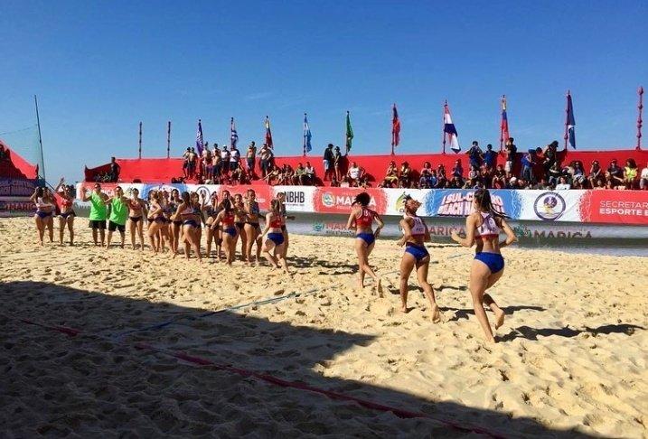 #BeachHandball Femenino 🇵🇾   ➡️ Paraguay 1 vs Brasil 2  ➡️ Paraguay 0 vs Uruguay 2  ➡️ Paraguay 2 vs Chile 0 ➡️ Paraguay 0 vs Argentina 2  ➡️ Mañana las chicas disputan las semifinales en horario a confirmar.  #VamosParaguay🇵🇾  #SomosCentroAlArea