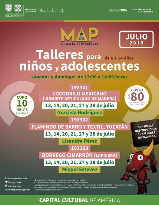 Y mexico En NiñasNiños Elmap Se Talleres Para Ofrecen 4AjLR5
