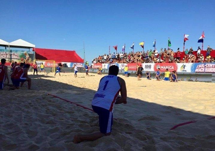 #BeachHandball Masculino 🇵🇾  ➡️ 10:40 hs Paraguay vs Ecuador  ➡️ 15:00 hs Paraguay vs Chile   #VamosParaguay🇵🇾  #SomosCentroAlArea