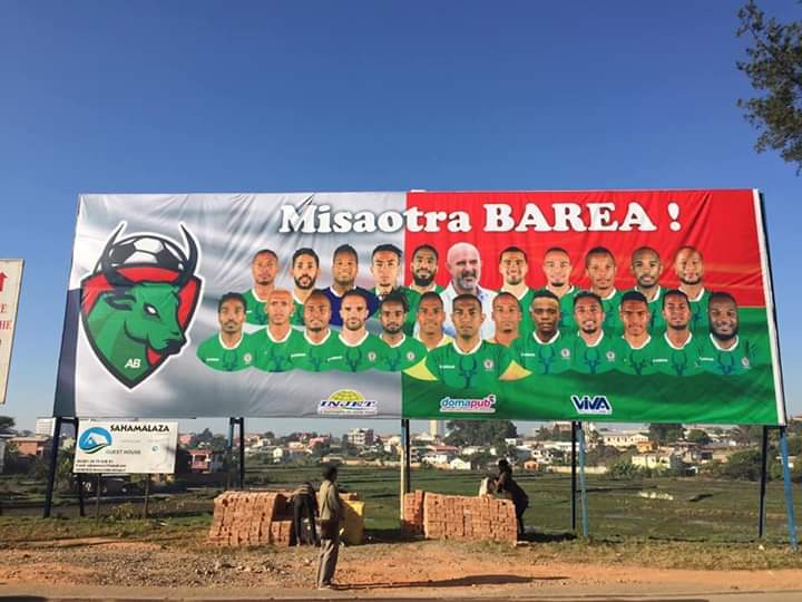 This is how we will welcome our BAREA heroes. It's not just football, it's beyond. It means strengthening the peace and cohesion of an entire nation. #CAN2019EGYPT #barea #Madagascar #Peace #FootballTogether<br>http://pic.twitter.com/tJoas9xGrs