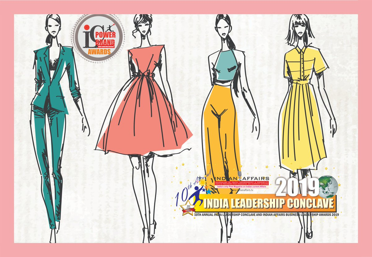 Indian Affairs On Twitter Fashion Designing In India Has Gone Global With Top Fashion Designers Making Their Presence Through Innovations Creativity India Leadership Conclave 2019 Present Top Six Nominees Naziasyed Nidamahmoodnm