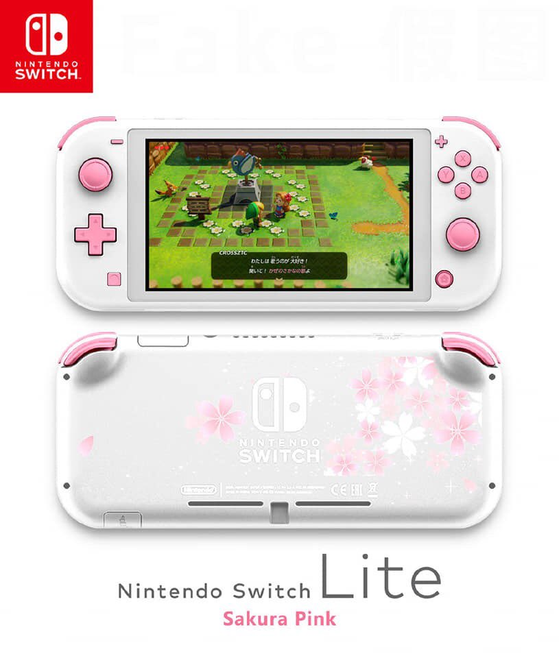 Fanmade mock up of Switch Lite is lit af.