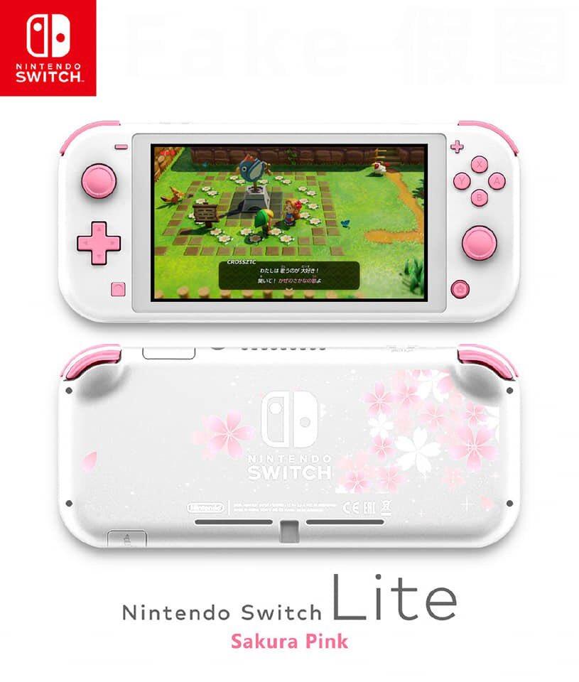 Fanmade mock up of Switch Lite is lit af. <br>http://pic.twitter.com/grf3bPkjs5