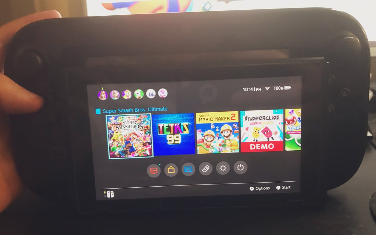 My obviously very legit switch lite