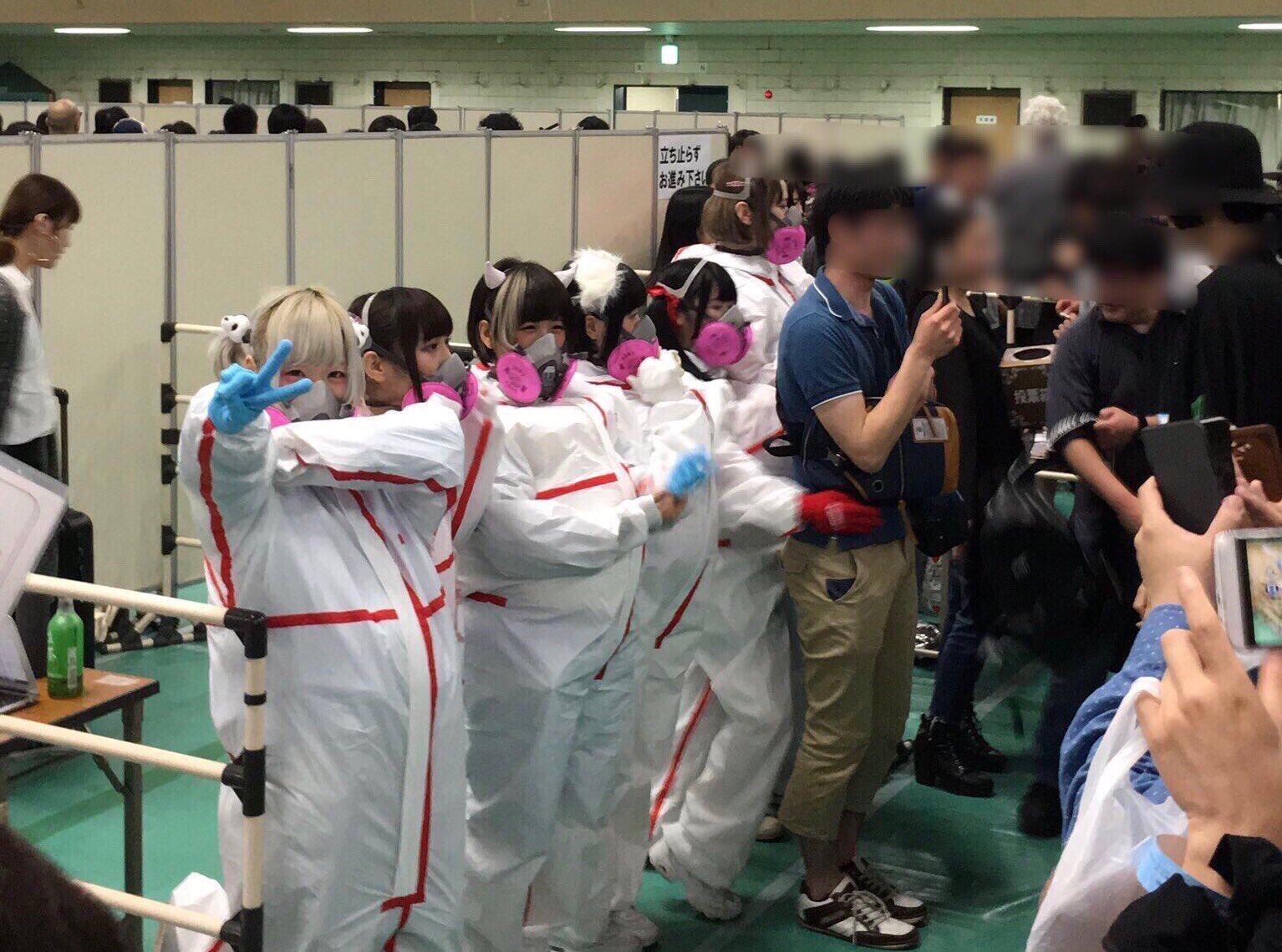 地下アイドルのハグ会すこ(^ω^)