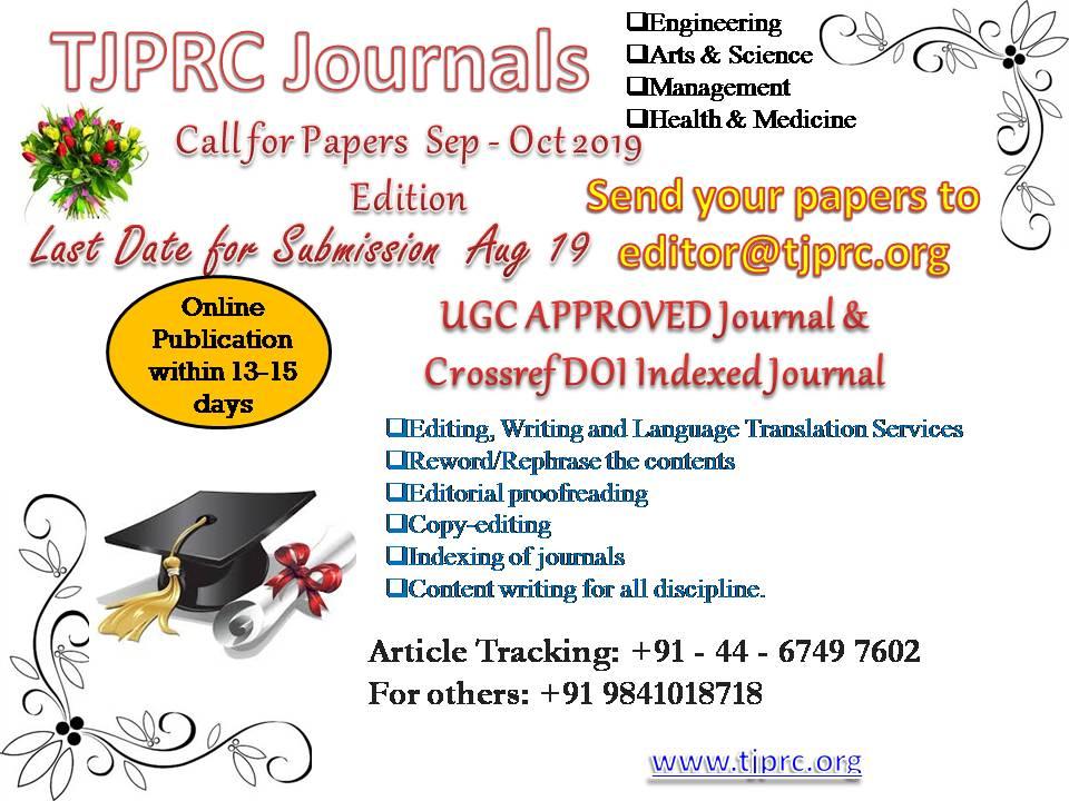 TJPRC Publication (@TJPRCPvtLmt) | Twitter