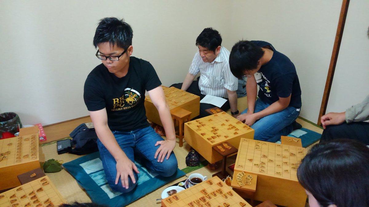 加瀬純一七段 将棋教室さんの投稿画像