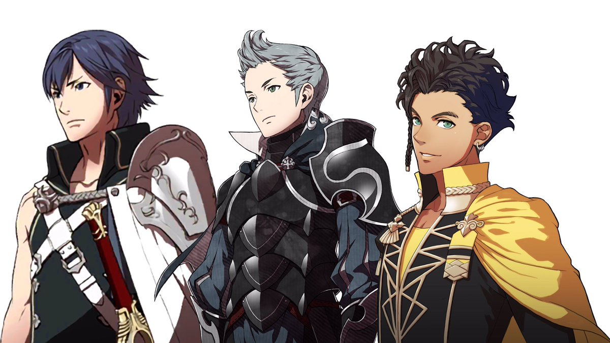 Please press F for Fire Emblem's biggest missed bi male opportunities ever Idiot Systems says bromance not romance 😔