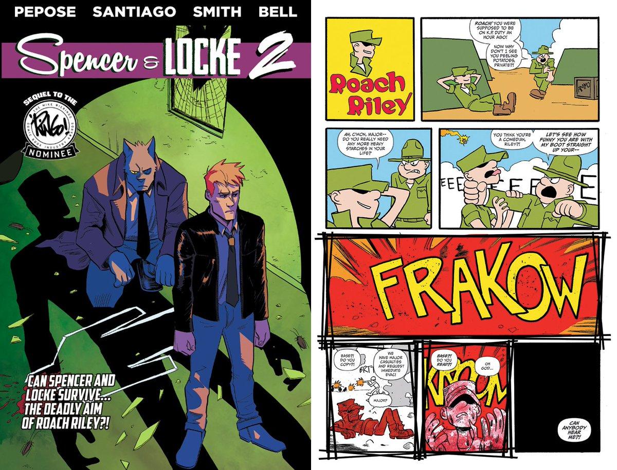 Spencer & Locke @ Rose City Comic Con T04 (@SpencerAndLocke