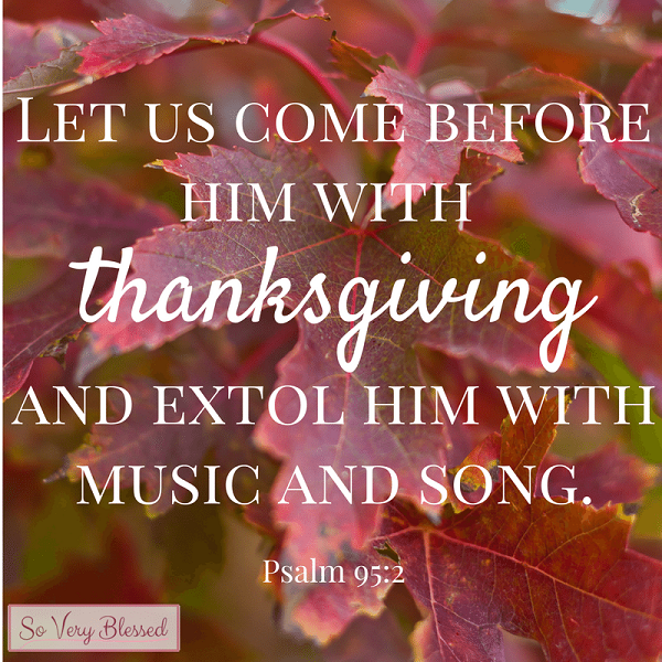 | Let us come before him with thanksgiving and extol Him with music and song. Psalm 95:2 | #Bible #Jesus #Christian #bethankful #devotion<br>http://pic.twitter.com/K8kV70aLHU