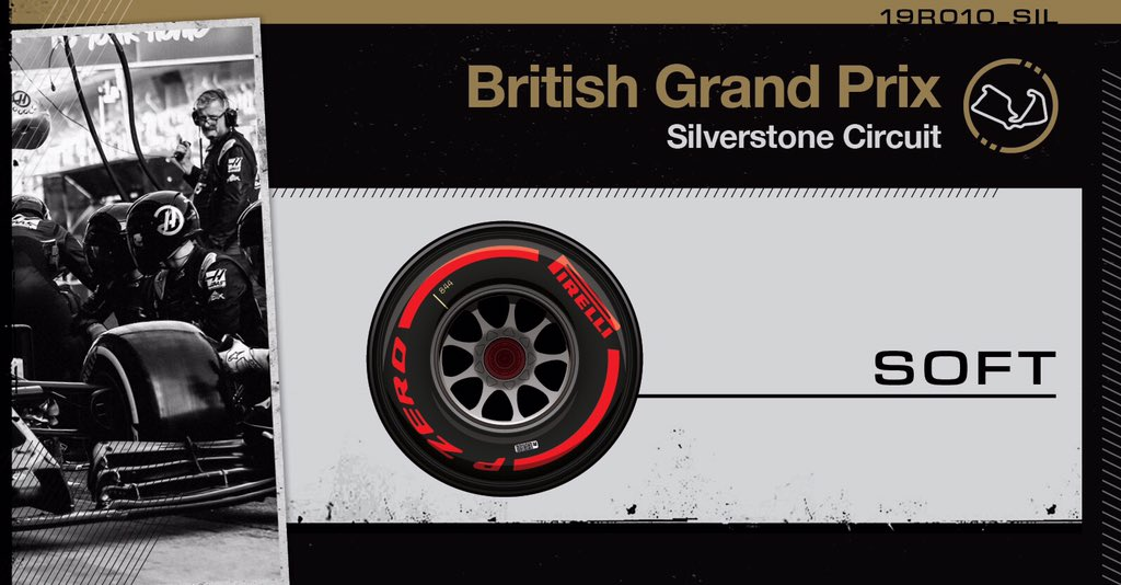 The guys take to the circuit - both sporting fresh soft tires.   #HaasF1 #BritishGP #Quali