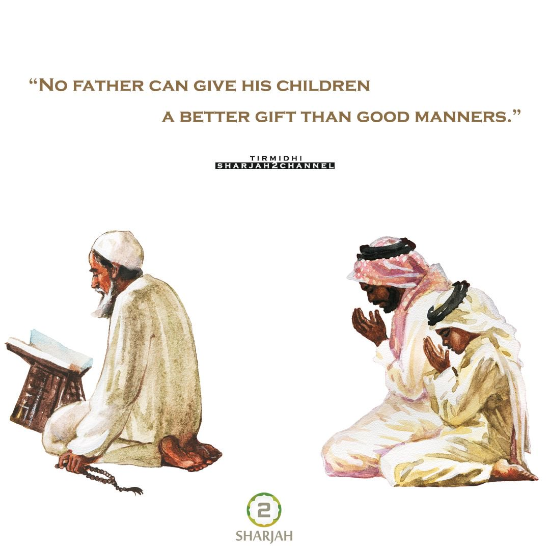 No father can give his children a better gift than good