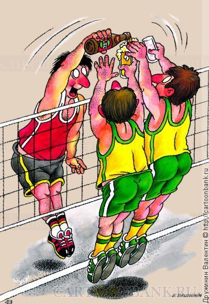 Картинки с смешными надписями волейбол