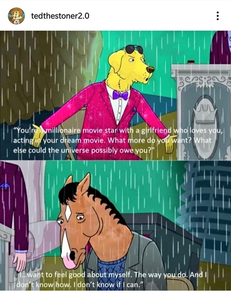 What it is like to be depressed! #depression #MentalHealthMatters #healing #dontsayjustbe #understandingdepression #instalike #BojackHorseman #relatablestuff<br>http://pic.twitter.com/GOaF0fhghd