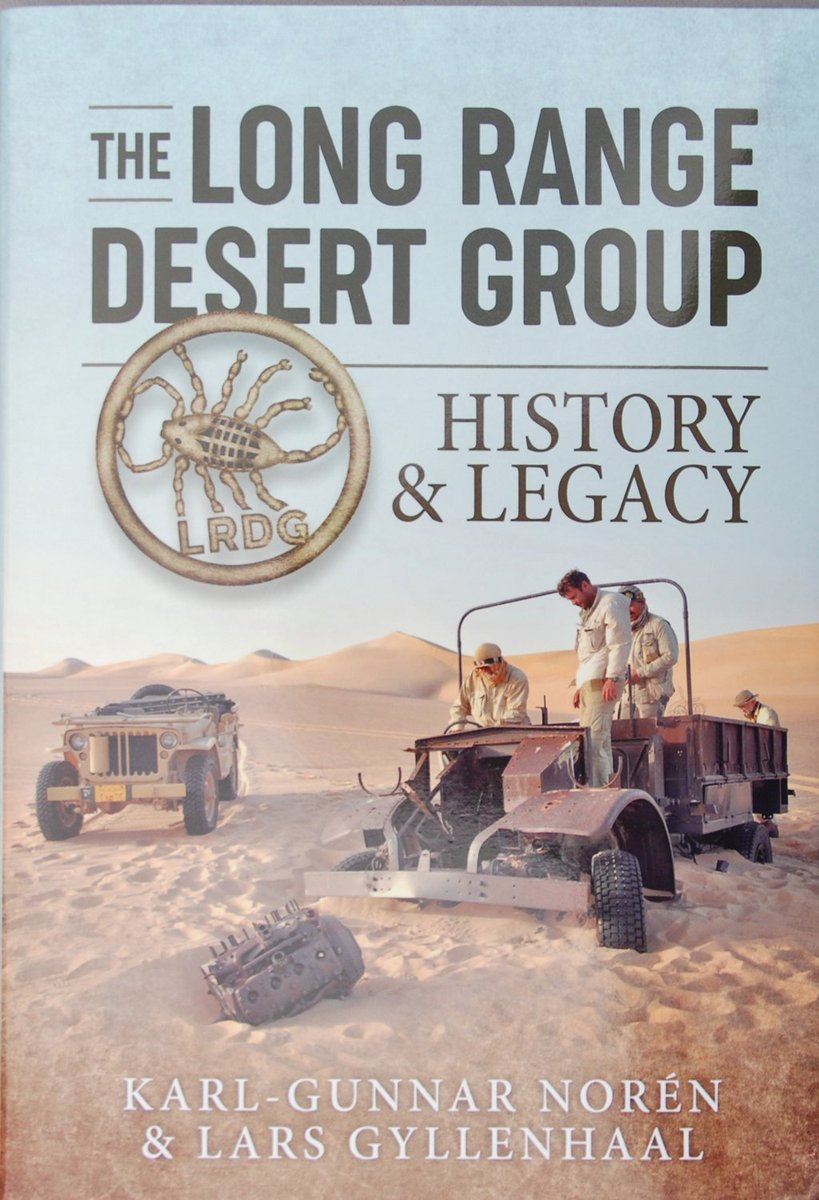 Todays new book review is for 'The Long Range Desert Group' from @Helionbooks via @Casemate_UK includes following an LRDG route in 2012 using 2 wartime jeeps. #WW2 #WW2books #LRDG #WW2history #WW2NorthAfrica Read the review-  https://www. militarymodelscene.com/helion-the-lrdg    <br>http://pic.twitter.com/V1hL2JvLI7