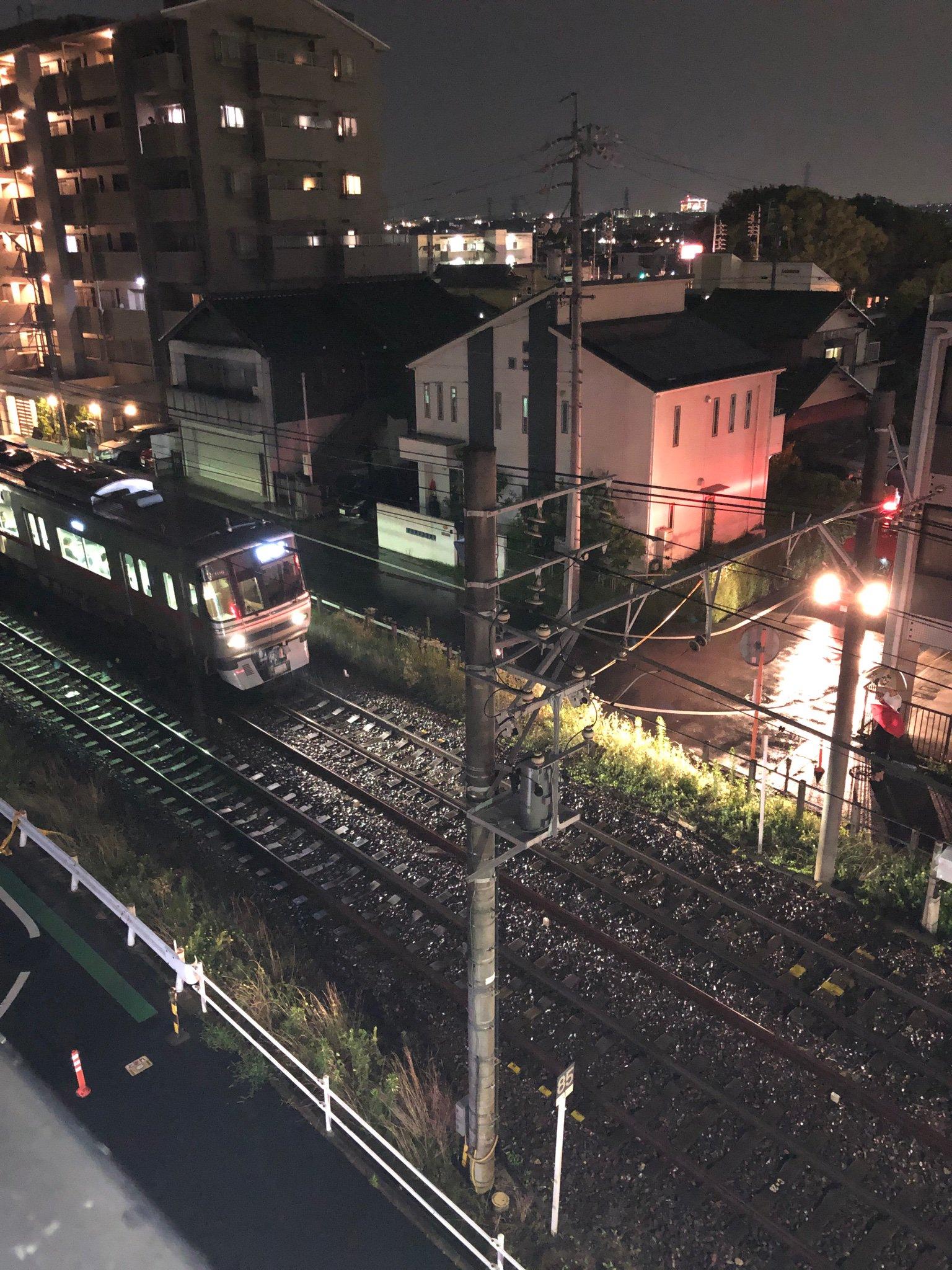 名鉄瀬戸線の印場駅~旭前駅間で人身事故が起きた画像