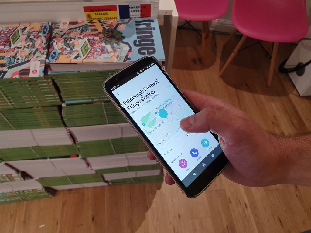 Were trying out Welcome by @neatebox , an app which allows users to let us know when theyre coming to visit the High Street and what access requirements they have. #MakeYourFringe