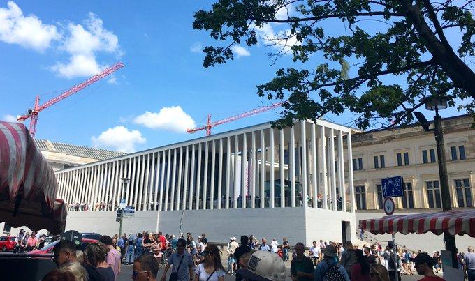 JamesSimon-Galerie auf der Berliner Museumsinsel g