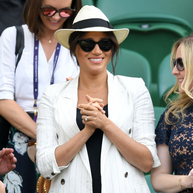 Meghan: Kate And Meghan Clap As @serenawilliams And