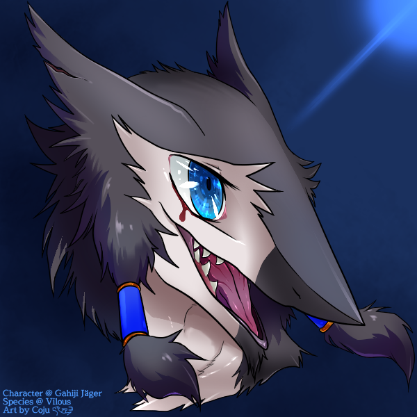 Commission for @TheGoudaWedge  Recently I've finally got back my condition enough to do the artwork. I'd like to restart gradually to work on other commissions which I'm holding.  I'm really sorry for keeping people who asked me commissions waiting for a long.  #Vilous #Sergal