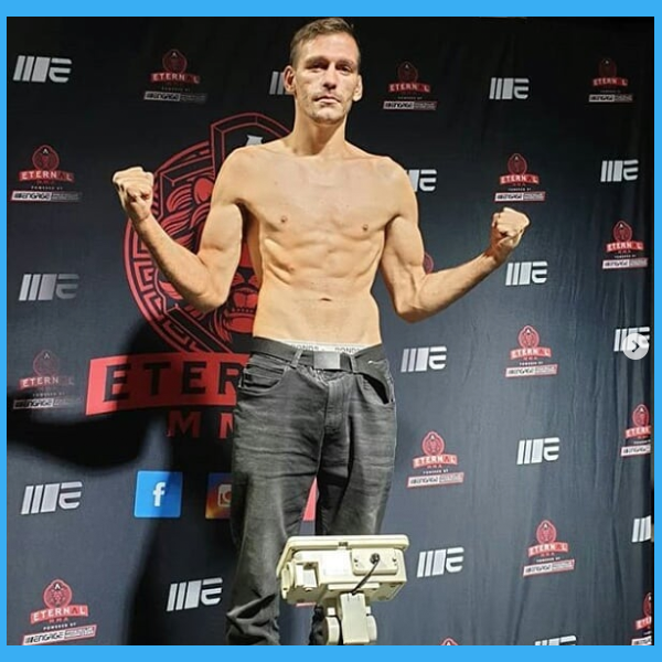 """Fighter Shout Out Of The Day is Dj """"Drop Bear"""" Bowron - Follow him on Instagram - https://www.instagram.com/dj.bowron/ - Hope to see you punching faces again soon dude!   #365FighterShoutouts #TopRatedMMA #BeardedBiz #MMA #WMMA #Fighter #Warrior #Gladiator #Fight #MixedMartialArts"""