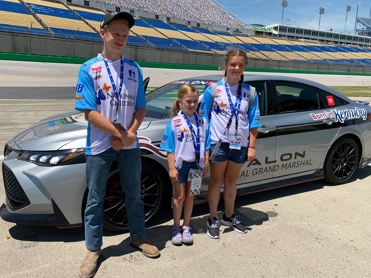 What an incredible experience for some incredible kids! #Nationwide88 #patientchampions
