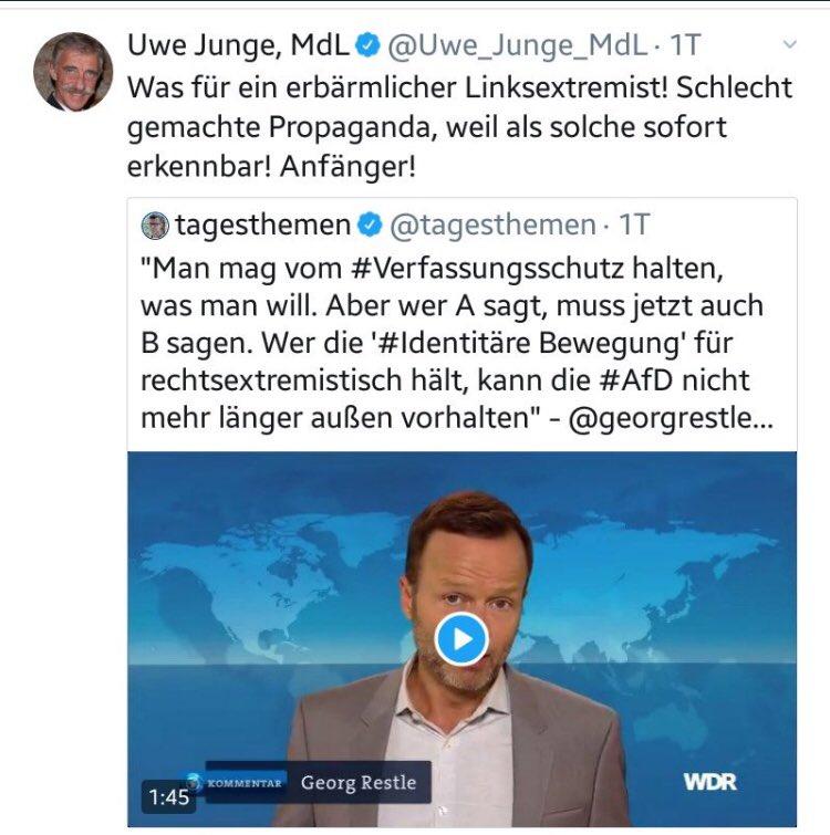 Georg Restle on Twitter