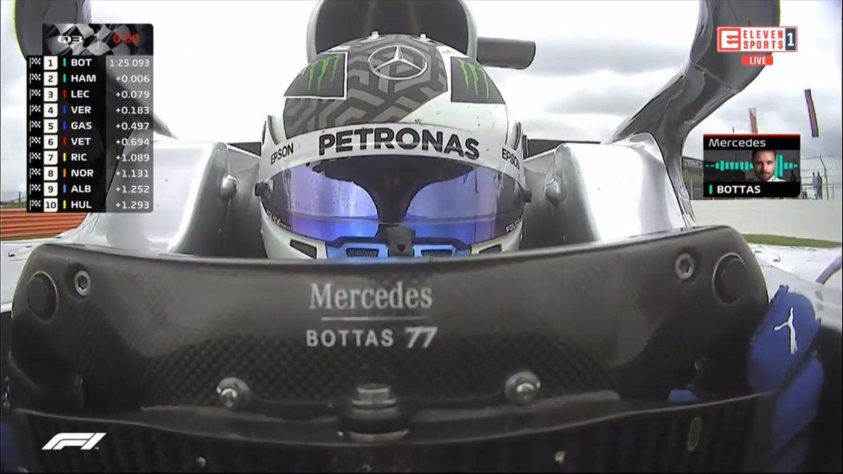 #Bottas! WOW!!!  #ElevenF1  A #Ferrari? Hm... Mam niedosyt. #Quali #BritishGP