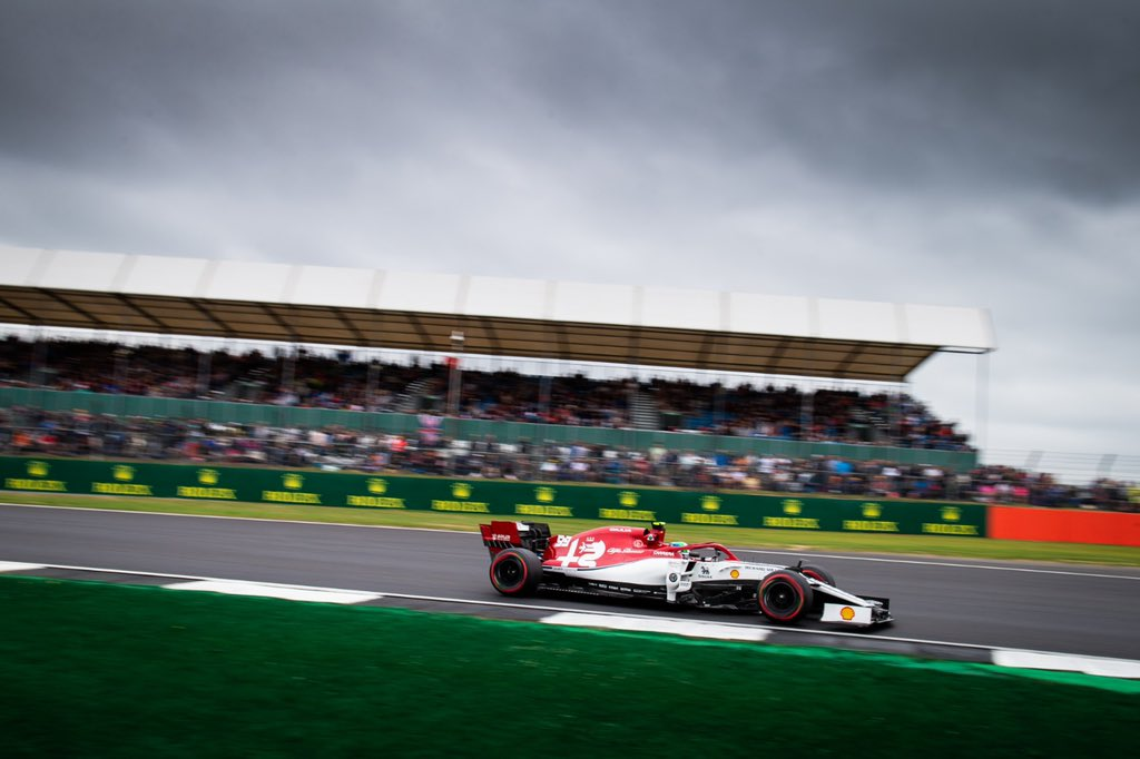 Locked up the sixth row tomorrow 🏁   Antonio P11, Kimi P12.   #BritishGP