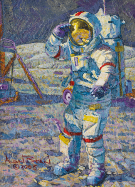 We have liftoff! Our Space Exploration exhibition is now open to the public in our #NYC galleries through next Friday, 19 July. #SothebysinSpace http://bit.ly/2jE26JH