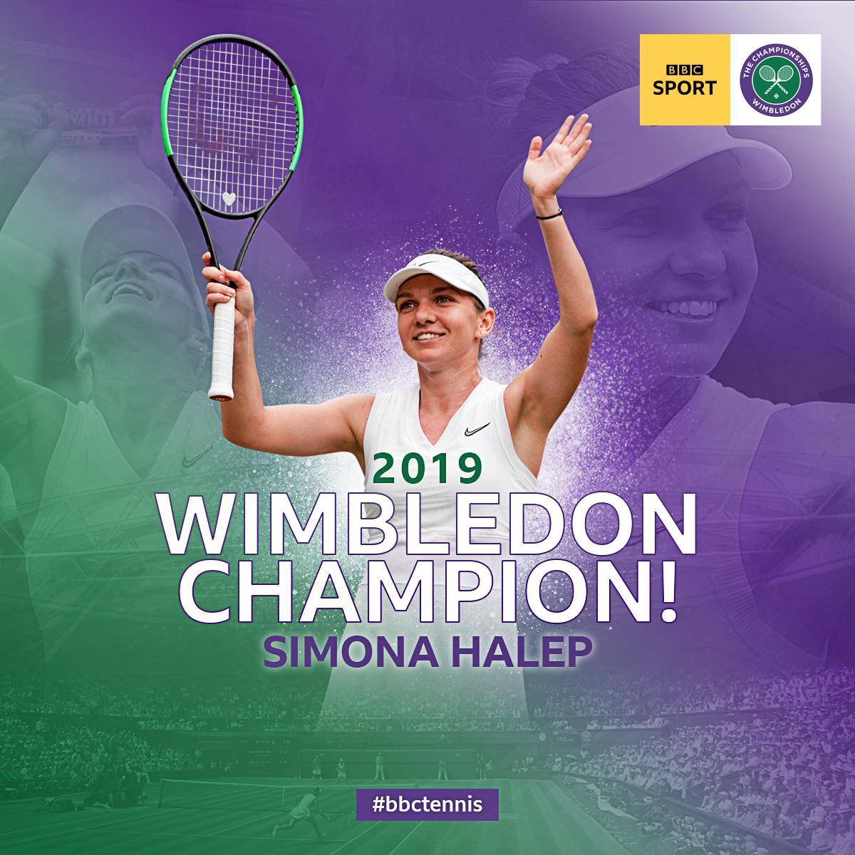 Simona Halep just blew Serena Williams