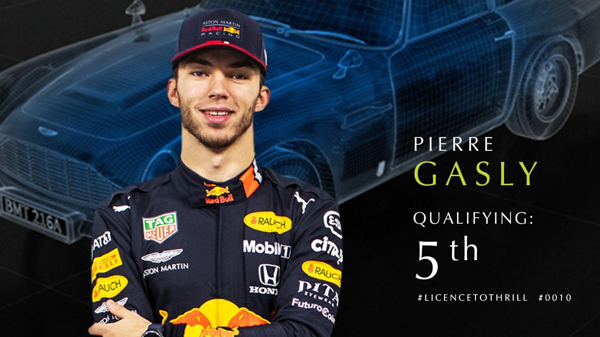 P5 for @PierreGASLY in quali. All to play for tomorrow in the #BritishGP. #F1007