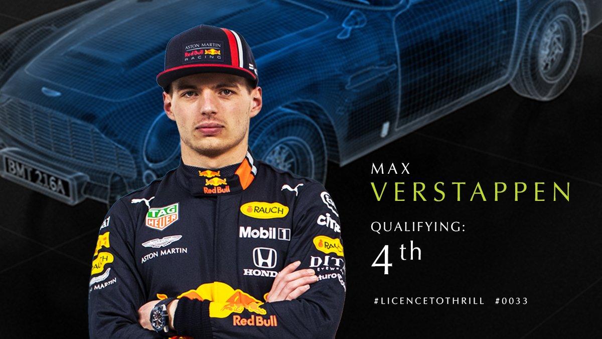 P4 for @Max33Verstappen in the #BritishGP quali here @SilverstoneUK . #F1007
