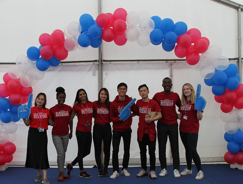 Thank you to everyone that attended today's Open Day! If you didn't get chance to visit us, you can book a personalised campus tour through our website  #uniofbuckingham #studentlife #university #opendays<br>http://pic.twitter.com/42DCtqvSkp