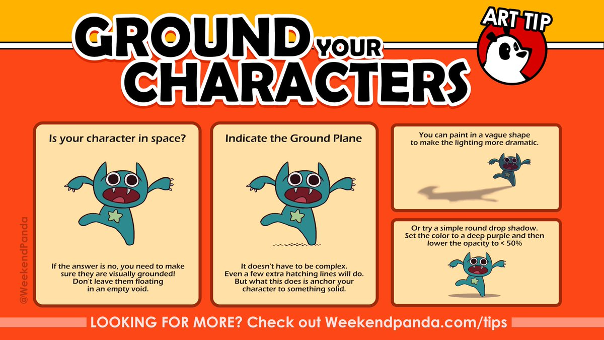 Weekend Recap!  Since we have a Patreon now, figured we should recap some of the #Art tips posted there from the past week in case folks missed them and would find them handy. :)<br>http://pic.twitter.com/wfZfhevSqB