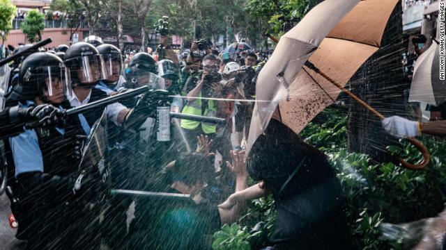 Hong Kong Protest China Baaz