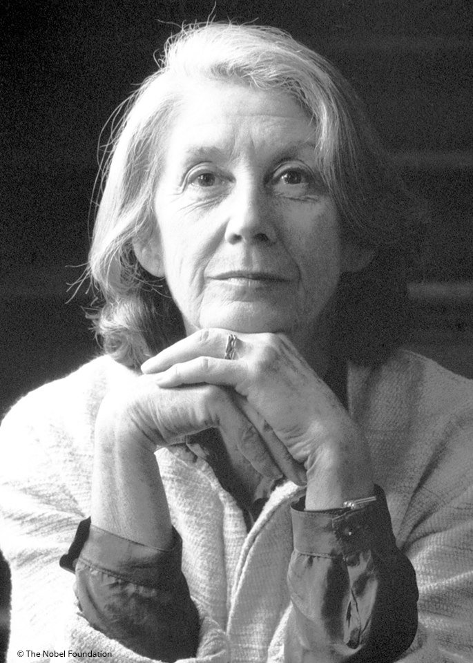 """""""Art defies defeat by its very existence, representing the celebration of life, in spite of all attempts to degrade and destroy it.""""  Today we remember Literature Laureate and fearless anti-apartheid activist, Nadine Gordimer. She died #OnThisDay in 2014."""