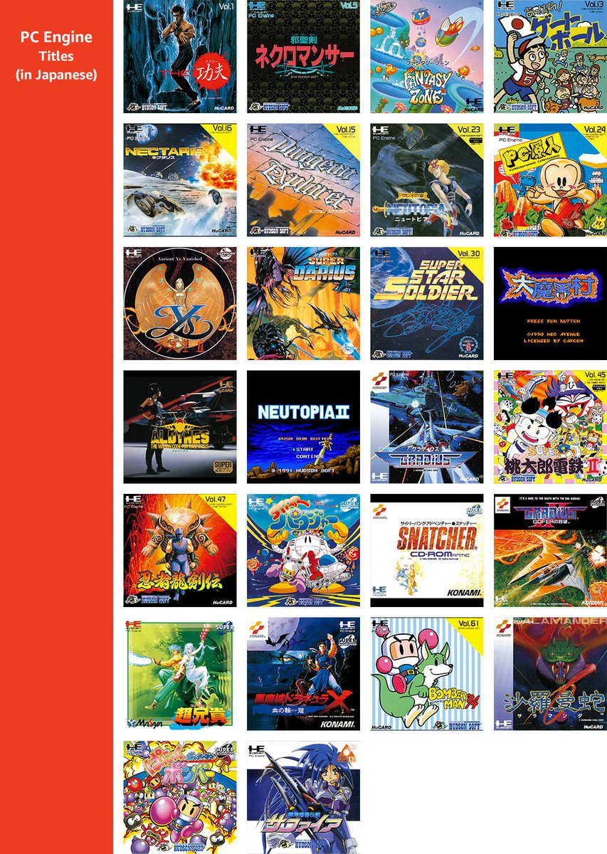 Censored Gaming On Twitter The Turbografx 16 Mini Will Also Include The Japanese Version S Games But Without A Translation Interestingly All Games Are Included Apart From Tokimeki Memorial Which Is Replaced With The